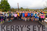 Ready for road at the Kerrie Browne Memorial 5K Run and Walk in Brosna on Sunday morning.