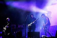 SHEPTON MALLET, ENGLAND - JUNE 30: Robert Smith and Simon Gallup of 'The Cure' performing at Glastonbury Festival, Worthy Farm, Pilton, on June 30, 2019 in Shepton Mallet, England.<br /> CAP/MAR<br /> ©MAR/Capital Pictures