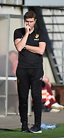 20170323 - BEVEREN , BELGIUM : Belgian coach Gert Verheyen pictured during the UEFA Under 19 Elite round game between Sweden U19 and Belgium U19, on the first matchday in group 7 of the Uefa Under 19 elite round in Belgium , thursday 23 th March 2017 . PHOTO SPORTPIX.BE | DIRK VUYLSTEKE