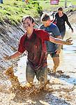 Harbour Sport Mud Rush, Massey University Campus, Albany, Auckland, New Zealand. Sunday 11 September 2016. Photo: Simon Watts / www.bwmedia.co.nz