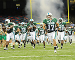 Tulane defeats Southeastern Louisiana 27-21 in the 2010 season opener at the Louisiana Superdome.