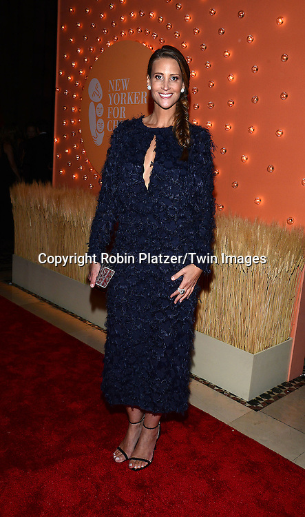 Stephanie Winston Wolkoff  attends the New Yorkers for Children 15th Annual Fall Gala to Benefit Youth in Foster Care which is presented by Chloe and David Yurman at Cipriani 42nd Street on September 30,2014 in New York City. <br /> <br /> photo by Robin Platzer/Twin Images<br />  <br /> phone number 212-935-0770