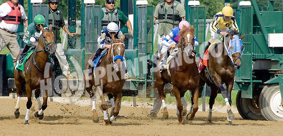 "Window Boy winning The Grover ""Buddy"" Delp Memorial Stakes at Delaware Park on 5/23/12"