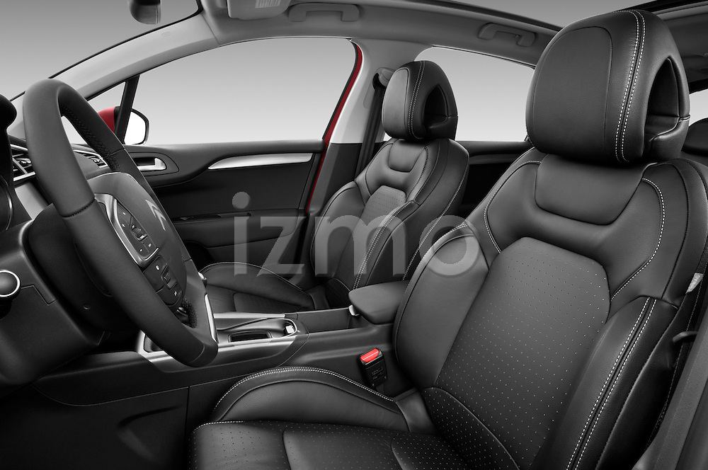 Front seat view of a 2013 Citroen C4 Exclusive 5 Door Hatchback 2WD