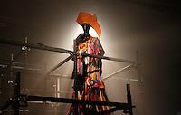 SAO PAULO, SP, 21, JANEIRO 2012 - EXPOSIÇÃO SPFW - Vista do Pavilhão da Bienal no terceiro dia da São Paulo Fashion Week Inverno 2012, no Parque do Ibirapuera, na zona sul de São Paulo, neste sábado. (FOTO: VANESSA CARVALHO - NEWS FREE).