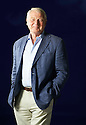 Paddy Ashdown former Lib Dem Politician   at The Edinburgh International Book Festival   . Credit Geraint Lewis