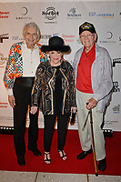 FORT LAUDERDALE FL - NOVEMBER 07: Frank Loconto, Connie Francis and Woody Woodbury attend The Fort Lauderdale International Film Festival's screening of Where The Boys Are held at the Westin Fort Lauderdale Beach Resort on November 7, 2018 in Fort Lauderdale, Florida. <br /> CAP/MPI04<br /> &copy;MPI04/Capital Pictures