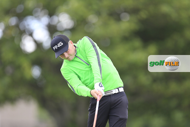 Darragh Smith (Castle) during the 1st round of the East of Ireland championship, Co Louth Golf Club, Baltray, Co Louth, Ireland. 02/06/2017<br /> Picture: Golffile | Fran Caffrey<br /> <br /> <br /> All photo usage must carry mandatory copyright credit (&copy; Golffile | Fran Caffrey)