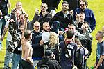 "© Joel Goodman - 07973 332324 - all rights reserved . 28/08/2010 . Bradford , UK . Supporters hold EDL leader Guramit Singh (aka Guramit Kalirai aka "" Kermit "") ahead of the demonstration . The English Defence League ( EDL ) hold a demonstration in Bradford . Photo credit : Joel Goodman"
