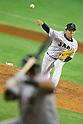Yuki Nishi (JPN),<br /> NOVEMBER 15, 2014 - Baseball : <br /> 2014 All Star Series Game 3 between Japan 4-0 MLB All Stars <br /> at Tokyo Dome in Tokyo, Japan. <br /> (Photo by Shingo Ito/AFLO SPORT)[1195]