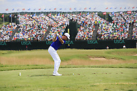 Harris English (USA) tees off the par3 9th tee during Saturday's Round 3 of the 117th U.S. Open Championship 2017 held at Erin Hills, Erin, Wisconsin, USA. 17th June 2017.<br /> Picture: Eoin Clarke | Golffile<br /> <br /> <br /> All photos usage must carry mandatory copyright credit (&copy; Golffile | Eoin Clarke)