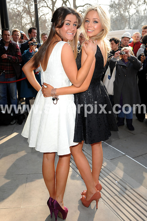 **ALL ROUND PICTURES FROM SOLARPIX.COM**                                             **WORLDWIDE SYNDICATION RIGHTS**                                                                                  Outside arrivals at the TRIC Awards 2011.  Held at Grosvenor House, Park Lane, London, on Tuesday March 08, 2011                                                                         This pic:     Brooke Vincent and Sacha Parkinson                                                                                  JOB REF:    12940    SSD       DATE:    08.03.11                                                        **MUST CREDIT SOLARPIX.COM OR DOUBLE FEE WILL BE CHARGED**                                                                      **MUST AGREE FEE BEFORE ONLINE USAGE**                               **CALL US ON: +34 952 811 768 or LOW RATE FROM UK 0844 617 7637**