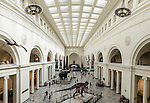 A view of Stanley Field Hall inside the Field Museum, July, 22, 2016, Chicago, Illinois. (DePaul University/Jeff Carrion)