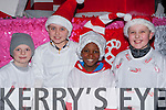 Jack Driscoll, Conor Lynch, Murigi Kariuki and Ben Heelan Killarney the candy men at the Christmas in Killarney parade on Friday night