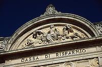 Italien, Umbrien, an der Piazza Matteoti in Citta di Castello