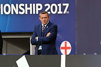 England Under21manager Aidy Boothroyd before England Under-21 vs Poland Under-21, UEFA European Under-21 Championship Football at The Kolporter Arena on 22nd June 2017