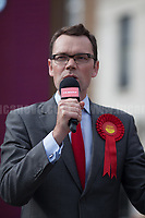 Watford, 07/06/2017. Documenting the last day of Jeremy Corbyn and the Labour Party electoral Campaign on the eve of the General Election 2017: Watford. Chris Ostrowski (Labour Party candidate for Member of Parliament for Watford).<br /> <br /> Watford, 07/06/2017. Documenting the last day of Jeremy Corbyn and the Labour Party electoral Campaign on the eve of the General Election 2017: Watford.