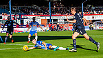 06.10.18 Dundee v Kilmarnock: Jordan Jones falls in the box and is awarded a penalty