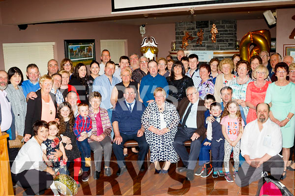 Johnny&Julia O'Connell from Scartaglen had a great night celebrating their Golden Wedding anniversary last Saturday night in O'Riada's, Ballymac along with many family and friends.