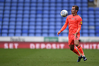 7th July 2020; Madejski Stadium, Reading, Berkshire, England; English Championship Football, Reading versus Huddersfield; Harry Toffolo of Huddersfield controls the high ball