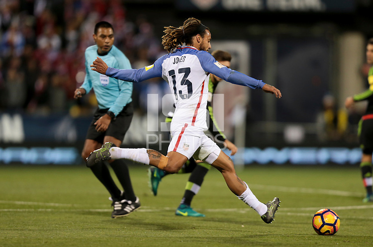 Columbus, OH - November 11, 2016: The U.S. Men's National team are defeated by Mexico 1-2 during their Hexagonal World Cup Qualifier match at MAPFRE Stadium.