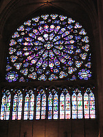 Rose Window, Notre Dame - Paris