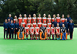 2018 Ned. team dames trainingsgroep