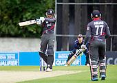 ICC World T20 Qualifier - GROUP B MATCH - SCOTLAND V UAE at Grange CC, Edinburgh - UAE batting — credit @ICC/Donald MacLeod - 09.07.15 - 07702 319 738 -clanmacleod@btinternet.com - www.donald-macleod.com