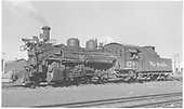 K-28 #478 in Antonito.<br /> D&amp;RGW  Antonito, CO  Taken by Richardson, Robert W. - 11/6/1949