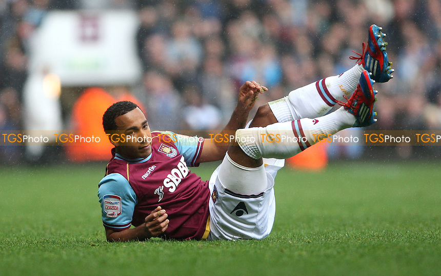 Nicky Maynard of West Ham - West Ham United vs Hull City, npower Championship at Upton Park, West Ham - 28/04/12 - MANDATORY CREDIT: Rob Newell/TGSPHOTO - Self billing applies where appropriate - 0845 094 6026 - contact@tgsphoto.co.uk - NO UNPAID USE..