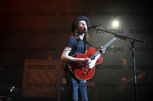 JAMES BAY - performing live at the Eventim Apollo in London UK - 29 Mar 2016.  Photo credit: Zaine Lewis/IconicPix
