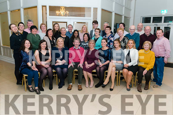 Joan Daly from Killarney celebrated her retirement  surrounded by friends and family and work colleagues in the Killarney Oaks Hotel last Sunday night. Joan retired after 17 years of service in the hotel.