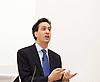 Rt Hon Ed Miliband MP <br /> speaking at &quot;Reading the Riots Conference&quot; investigating England's summer of disorder <br /> at the London School of Economics, London, Great Britain <br /> 14th December 2011 <br /> <br /> Keynote speech <br /> <br /> Ed Miliband <br /> Leader of the Labour Party  <br /> <br /> <br /> Photograph by Elliott Franks