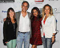 HOLLYWOOD, LOS ANGELES, CA, USA - OCTOBER 16: Jane Charles, Jeffrey Brown, Seirah Royin, Lisa Kristine arrive at the 2014 Hollywood Film Festival - Opening Night Gala held at ArcLight Hollywood on October 16, 2014 in Hollywood, Los Angles, California, United States. (Photo by Celebrity Monitor)