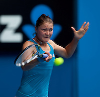 Dinara Safina (RUS) (2) against Elena Baltacha (GBR)  in the Third Round of the Womens Singles. Safina beat Baltacha 6-1 6-2..International Tennis - Australian Open Tennis - Fri 22 Jan 2010 - Melbourne Park - Melbourne - Australia ..© Frey - AMN Images, 1st Floor, Barry House, 20-22 Worple Road, London, SW19 4DH.Tel - +44 20 8947 0100.mfrey@advantagemedianet.com