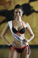 SAO PAULO, SP, 04.08.2014 - MISS SAO PAULO - Miss Campinas - Wendy Moreira Meira, 25 anos durante desfile preparativo de biquini para Miss Sao Paulo na tarde desta segunda-feira no Jockey Club Sao Paulo na região sul da cidade. (foto: Vanessa Carvalho / Brazil Photo Press).
