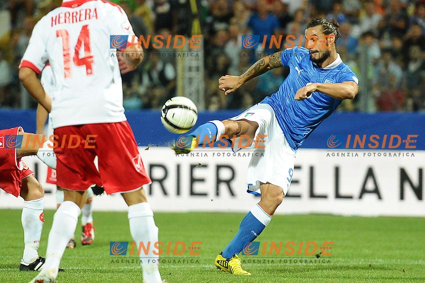 Daniel Pablo Osvaldo (Italia).11/09/2012 Modena.Football Calcio 2012 / 2013 .Qualificazioni Mondiali 2014.Italia vs Malta.Foto Insidefoto / Antonietta Baldassarre.