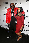 Rick Ross and Fiancée Lira Mercer Attend TIDAL X: 1020 Amplified by HTC