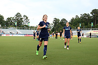 Cary, North Carolina  - Saturday June 17, 2017: McCall Zerboni prior to a regular season National Women's Soccer League (NWSL) match between the North Carolina Courage and the Boston Breakers at Sahlen's Stadium at WakeMed Soccer Park. The Courage won the game 3-1.