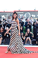 Brazilian top model and actress Isabeli Fontana walks on the red carpet of the movie 'Downsizing' and opening ceremony of the 74th Venice Film Festival, Venice Lido, August 30, 2017. <br /> UPDATE IMAGES PRESS/Marilla Sicilia<br /> <br /> *** ONLY FRANCE AND GERMANY SALES ***