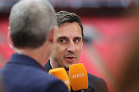 Gary Neville during the Vanarama National League Playoff Final between AFC Fylde & Salford City at Wembley Stadium, London, England on 11 May 2019. Photo by James  Gil.