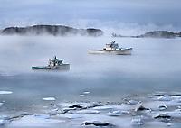 Arctic Sea Smoke