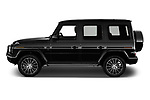 Car driver side profile view of a 2019 Mercedes Benz G-Class G-550 5 Door SUV