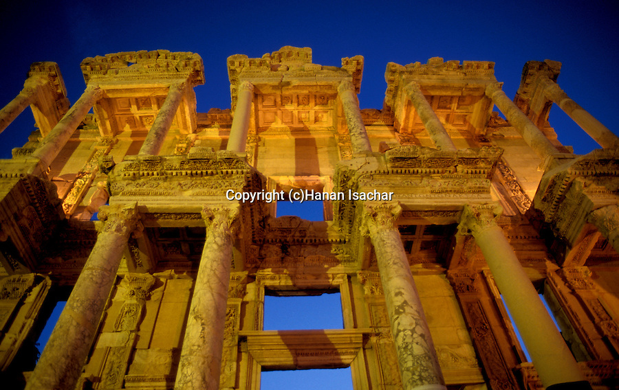 Turkey, Ephesus (Ephes). The Celsus Library