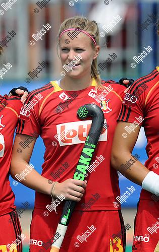 2013-07-14 / Hockey / seizoen 2013 / Dames Belgi&euml; / Alix Gerniers<br /><br />Foto: Mpics.be