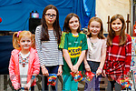 Lís Ferriter with Maire, Aoife and Orlaith Flynn and Holly O'Driscoll, enjoying Paddy's Picnic fundraiser in Camp on Saturday last .