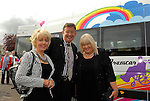 At the presentstion of the new minibus to St. Mary's Special School, Drumcar (from left) Geraldine Conway, Chair of the Parent's Council, Gerald Keane who compered the charity fashion show and  Bernadette Shevlin Director of Services, St.Mary's. photo: www.newsfile.ie
