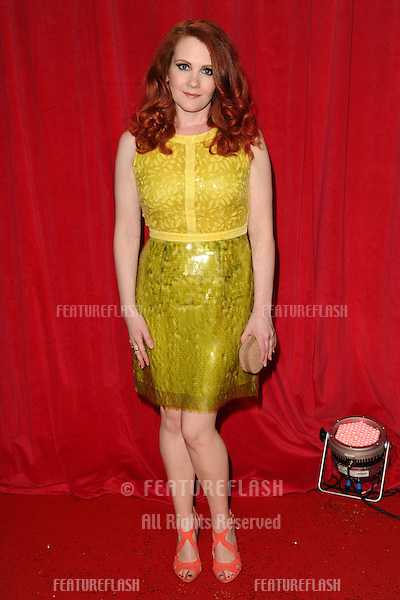 Jennie McAlpine arriving for the 2014 British Soap Awards, at the Hackney Empire, London. 24/05/2014 Picture by: Steve Vas / Featureflash