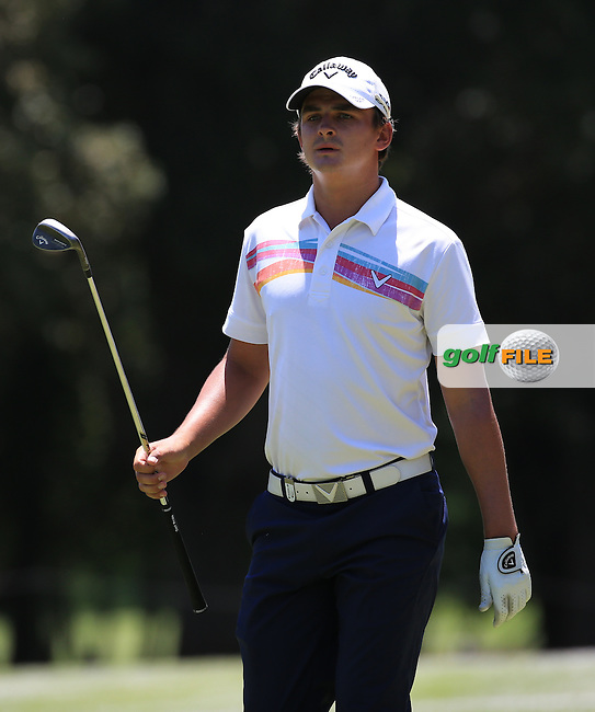 Christiaan Bezuidenhout (RSA) completes a round of 69 during Round Two of the 2016 BMW SA Open hosted by City of Ekurhuleni, played at the Glendower Golf Club, Gauteng, Johannesburg, South Africa.  08/01/2016. Picture: Golffile | David Lloyd<br /> <br /> All photos usage must carry mandatory copyright credit (&copy; Golffile | David Lloyd)