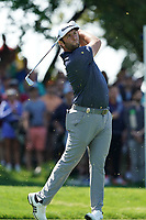 Jon Rahm (ESP) on the 17th tee during the 2nd round at the PGA Championship 2019, Beth Page Black, New York, USA. 17/05/2019.<br /> Picture Fran Caffrey / Golffile.ie<br /> <br /> All photo usage must carry mandatory copyright credit (&copy; Golffile | Fran Caffrey)